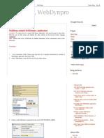 SAP ABAP, WebDynpro Simple Apps
