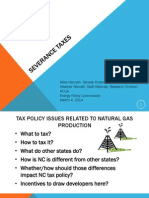 Hannah & Fennell - Severance Taxes Overview