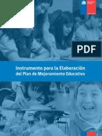 Instrumento Para La Elaboracion Del PME Formulario Reformulado
