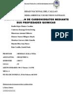 Identificacion de Carbohidratos Terminado