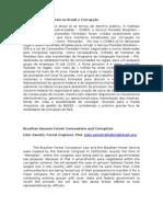 Concessões Florestais No Brasil e Corrupção