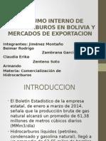 Consumo Interno de Hidrocarburos en Bolivia y Mercados