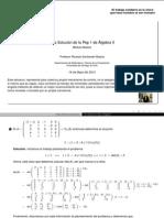 PEP 1 - Álgebra II (2013)