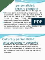 Cultura y Personalidad 2
