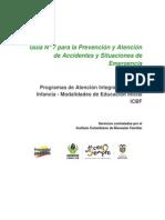 ICBF - Guía Prevencion y Atencion de Accidentes y Situaciones de Emergencia - p52 - YA .pdf