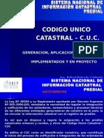 Expo Para El Sistema  Nacional del Catastro del Peru.
