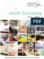 Thurrock Adult College Catalog