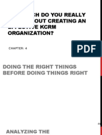 Chapter 04 Creating an Effective KCRM Organization