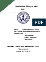 Tugas Kesehatan Mayarakat PHC