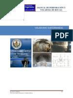 """Manual de Perforaciã""""n y Voladura. Temas 6 Voladuras Subterraneas"""