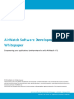 20120711 AirWatch Whitepaper SDK