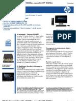 HP Pavilion Slimline PC s5200la - Monitor