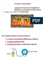 Electric Circuit Basics