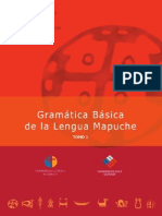 Gramatica Basica de La Lengua Mapuche