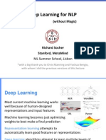 Deep Learning for NLP without Magic - Richard Socher