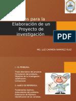 Pasos Para Elaborar Trabajo Investigacion