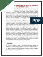 Gobierno Transcitorio de Paniagua