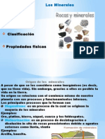 Presentación de Mineralogía