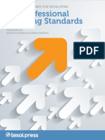 Tesol Guidelines for Developing Efl Professional Teaching Standards