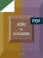 Acidez vs Alcalinidad 2