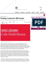 finding a home for see events - the diamondback