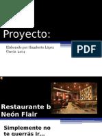 Proyecto Restaurante bar  2104 Humberto Lopez Garcia.pptx