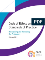 college of ece codes of ethics and standards of practice
