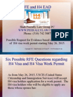 Action Alert on H4 Visa - Government proposing rule on