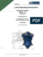 Instrucciones de Operación y Montaje KB 63x75