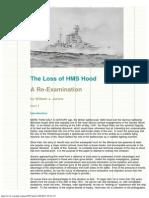 Loss of HMS Hood 1