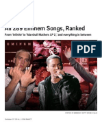 All 289 Eminem Songs, Ranked _ SPIN