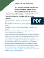 ibc applied assessment - marketing v2
