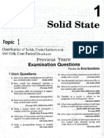 Chemistry Solid State