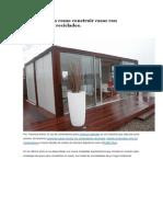 TE Enseñamos Como Construir Casas Con Contenedores Reciclados