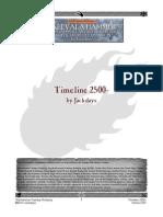Warhammer Timeline 2500-