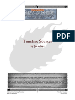 Warhammer Timeline Sources