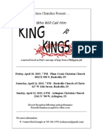 RC Churches Easter Show Poster 2015
