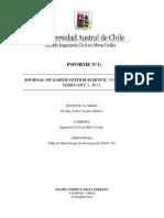 Informe N°1. Metodología de la Investigación (Nota 6,5)