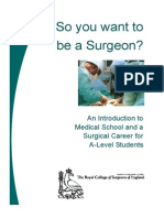 So You Want to Be a Surgeon A4