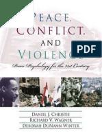 Daniel J. Christie, Peace Psychology (2001)