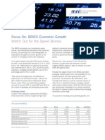 Focus on Brics Economic Growth