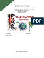 objetivos históricos IV y V del Plan de la Patria