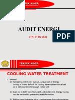 Audit Energi Cooling System