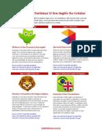 4 Apps Para Turbinar O Seu Inglês No Celular