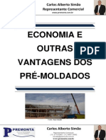 Economia e Outras Vantagens dos Pré-Moldados