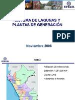 Sistemas de Lagunas y Plantas de Generacion
