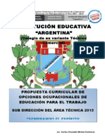 Propuesta Curricular Ept 2015 Iea Marz