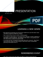 genre presentation for comp