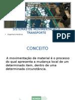 Sistemas de Movimentação e Transporte