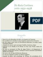 Sexenio Ruiz Cortines